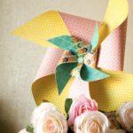 Идеи для свадебного скрапбукинга: декоративная вертушка