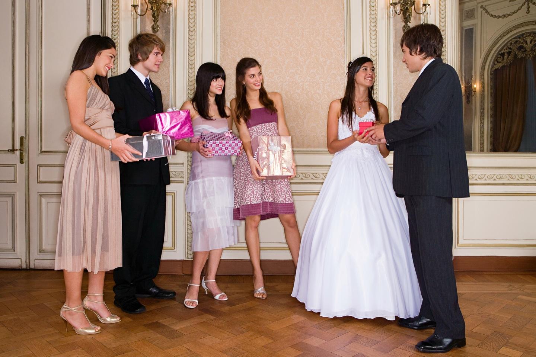 Правила для гостей на свадьбе