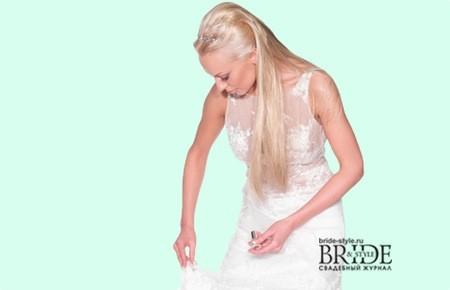 Пятно на платье