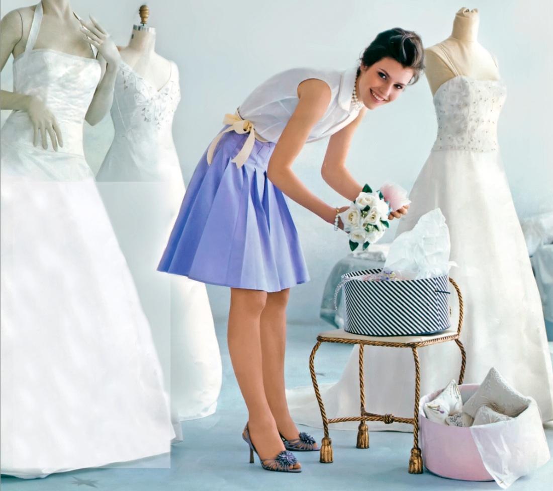 Надеть платье после свадьбы
