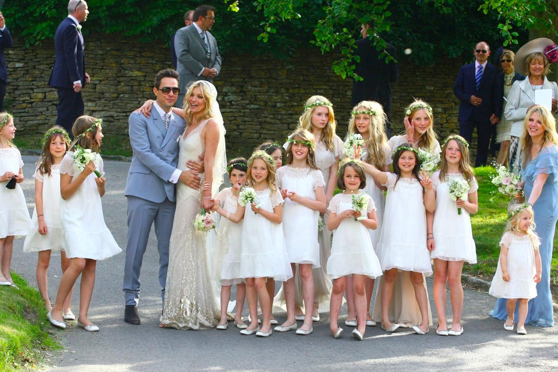 Английская свадьба. Кейт Мосс и Джейми Хинс