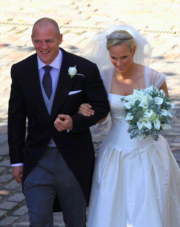 Английская свадьба. Зара Филлипс и Майк Тиндалл