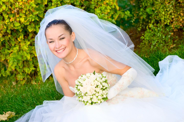 Свадебное платье для осени