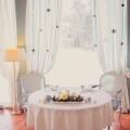 Стол на свадьбу зимой