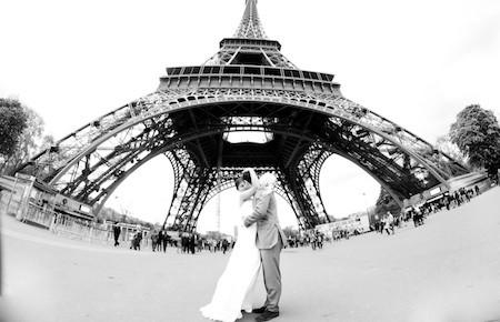 Свадба в Париже