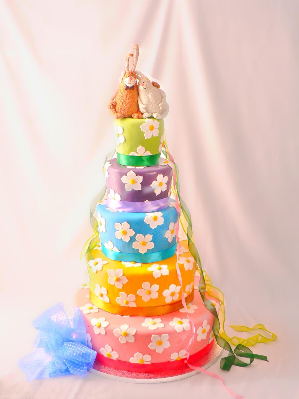 Глупый, нелепый и смешной свадебный торт