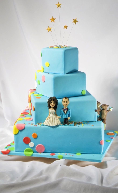 Свадебный торт — на позитиве!