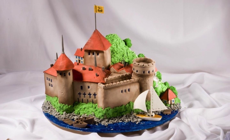 Свадебный торт — Шильонсккий замок