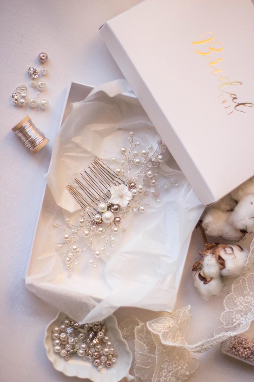 Свадебный гребень. Шаг 4