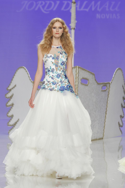 Свадебное платье Jordi Dalmau 2018