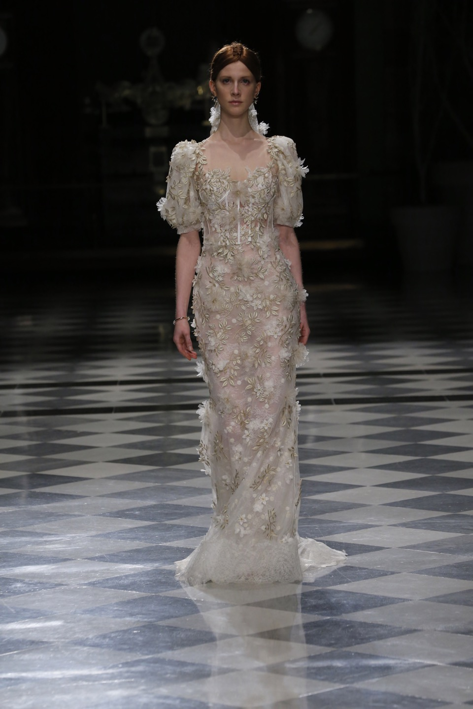 Свадебное платье Yolan Cris Couture 2018