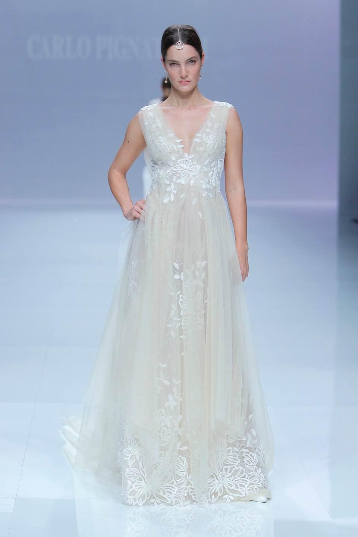 Свадебное платье Carlo Pignatelli 2019