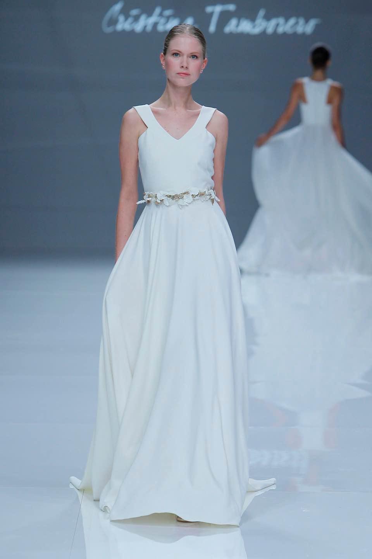 Свадебное платье Cristina Tamborero 2019