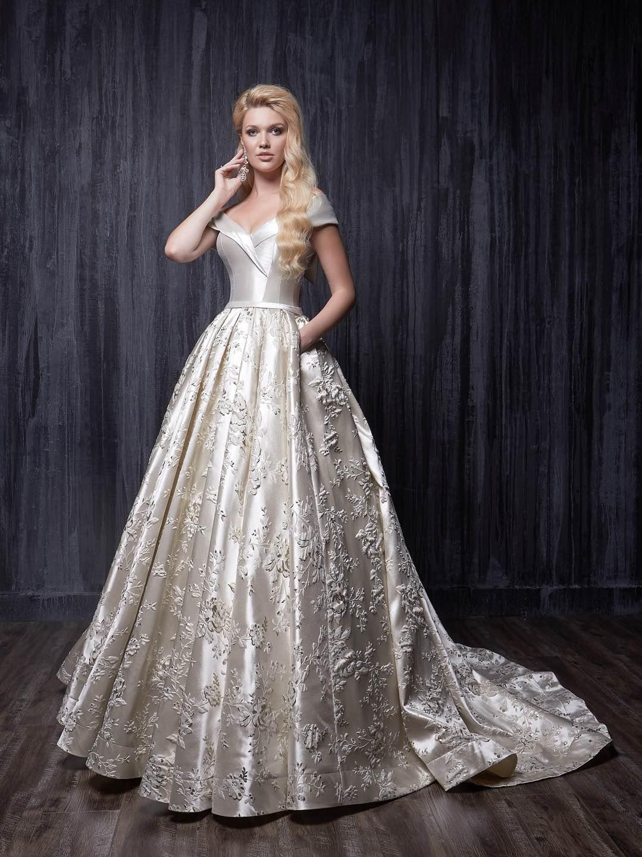Свадебное платье Jasmine Empire 2019