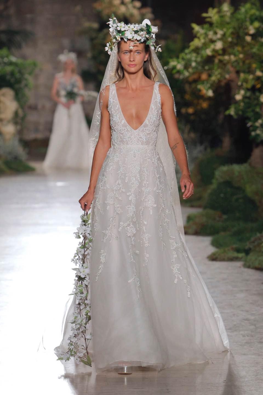Свадебное платье Reem Acra 2019