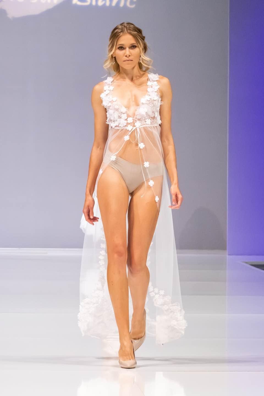 Будуарное платье Blanc Sur Blanc
