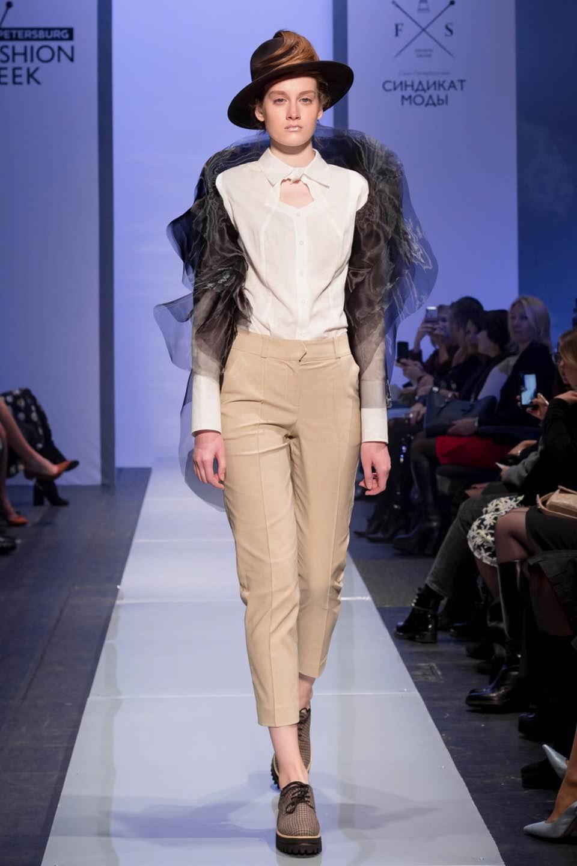 Модель показа Milla Berillo 2019 на SPBFW
