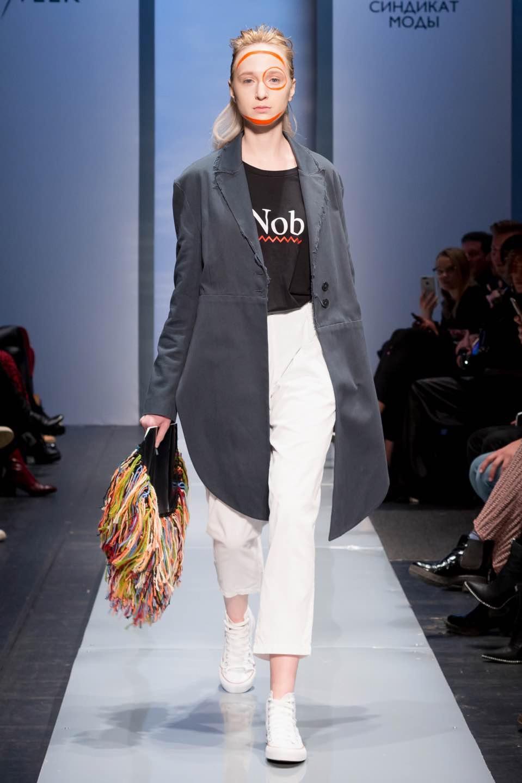 Модель показа Nob Talents  весна-лето 2019 на SPBFW