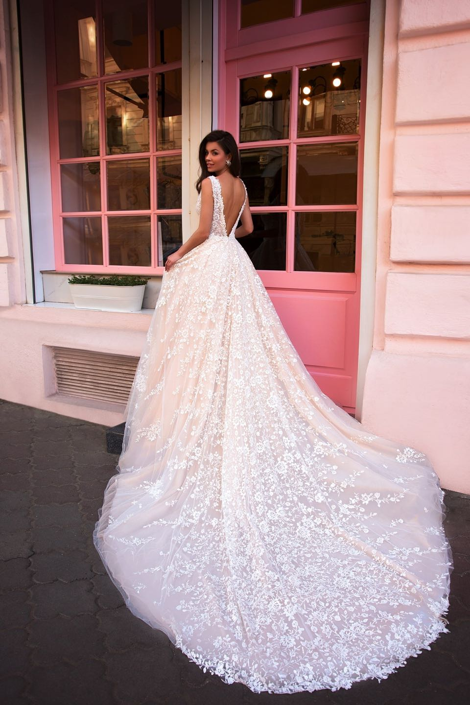 Свадебное платье Ida Torez 2019