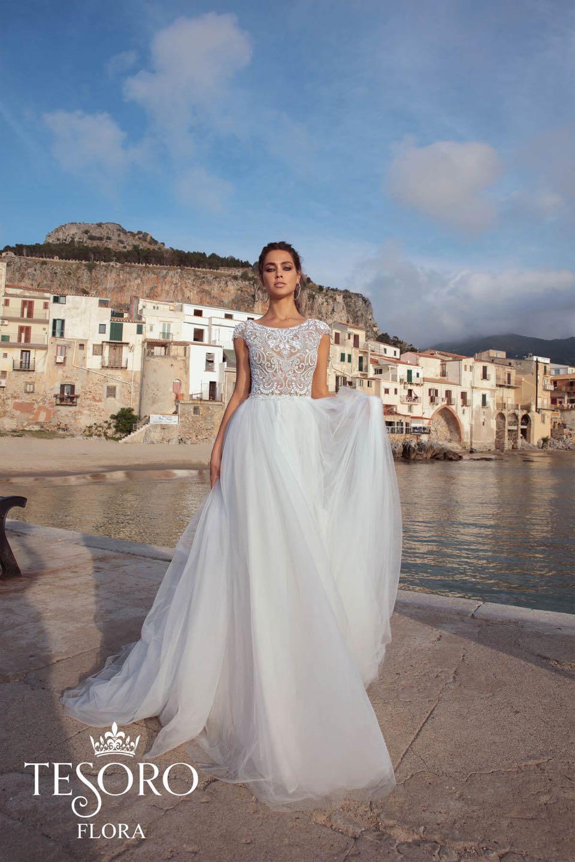 Свадебное платье Tesoro 2019