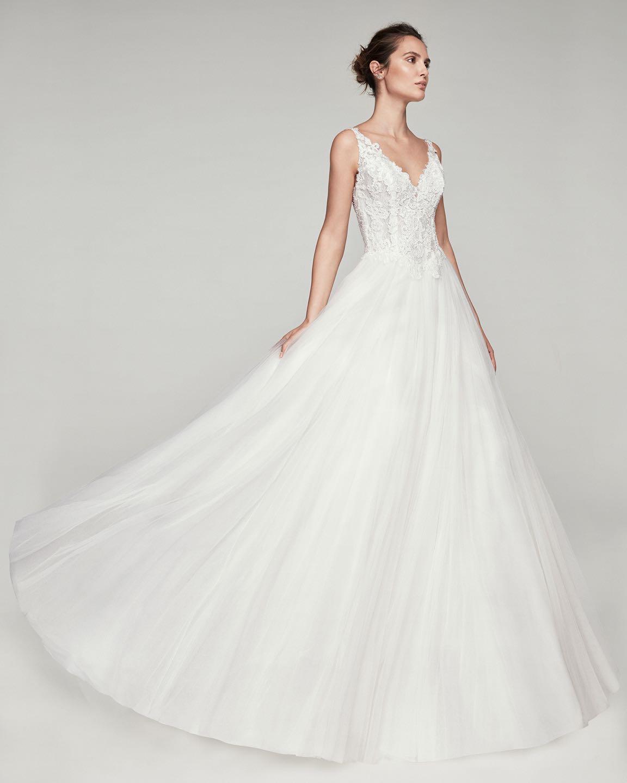 Свадебное платье Alma Novia 2019