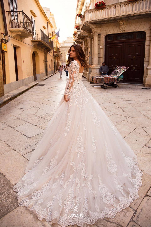 Свадебное платье Lussano 2019