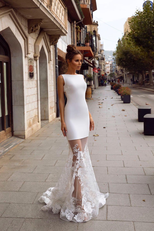 Свадебное платье Tina Valerdi 2019