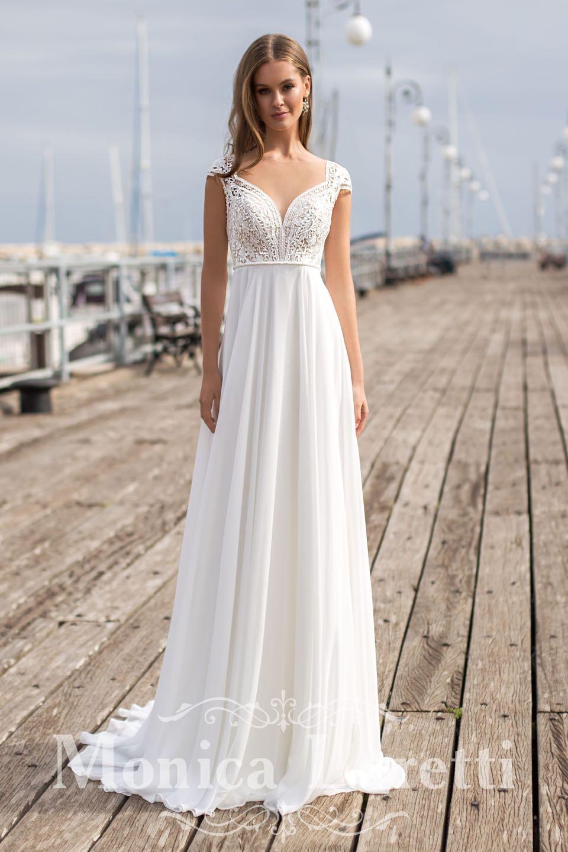 Свадебное платье Monica Loretti 2019