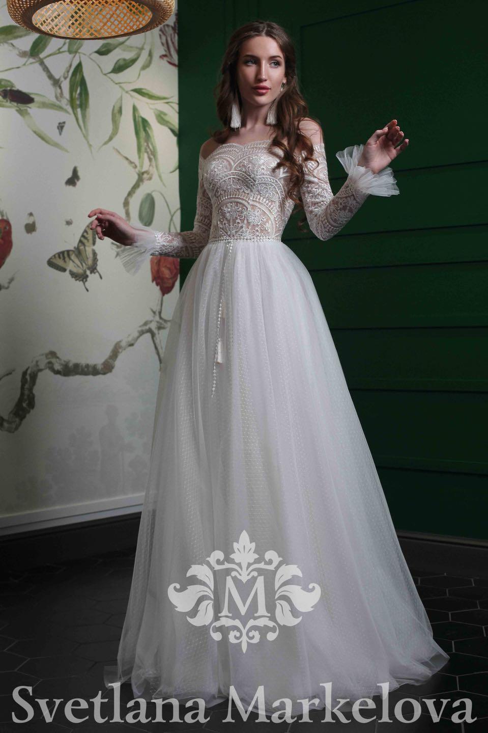 Свадебое платье Svetlana Markelova 2019 (Светлана Маркелова)