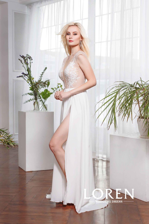 Свадебное платье Loren 2019