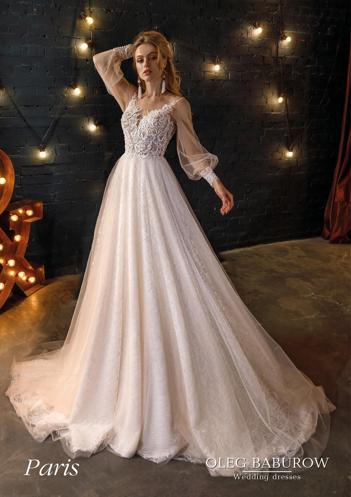 Свадебное платье Oleg Baburow